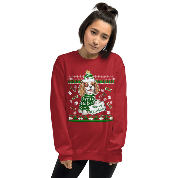 UGLY CHRISTMAS SWEATER (blenheim) Unisex Sweatshirt