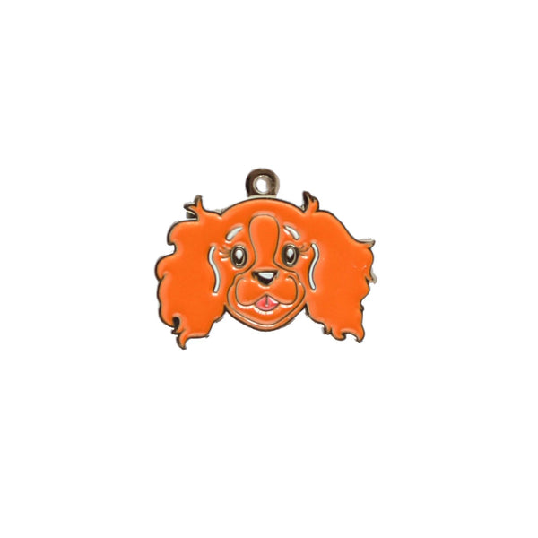 Cavalier King Charles face charm | RUBY