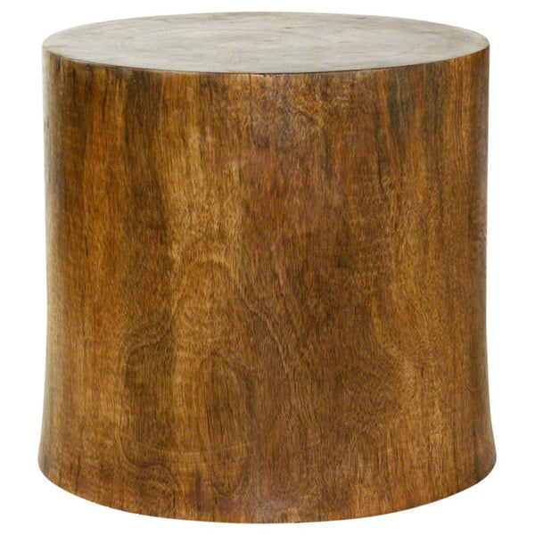 Haussmann® Mango Stump End Table 19 In D Top X 20 D Base X 18 In High Antique Oak