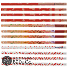 Load image into Gallery viewer, (13071-2B C12) Kakikata pencil /Pencil For Beginner / Box of 12・Red (2B)