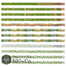 Load image into Gallery viewer, (13072-2B C12) Kakikata pencil /Pencil For Beginner / Box of 12・Green (2B)