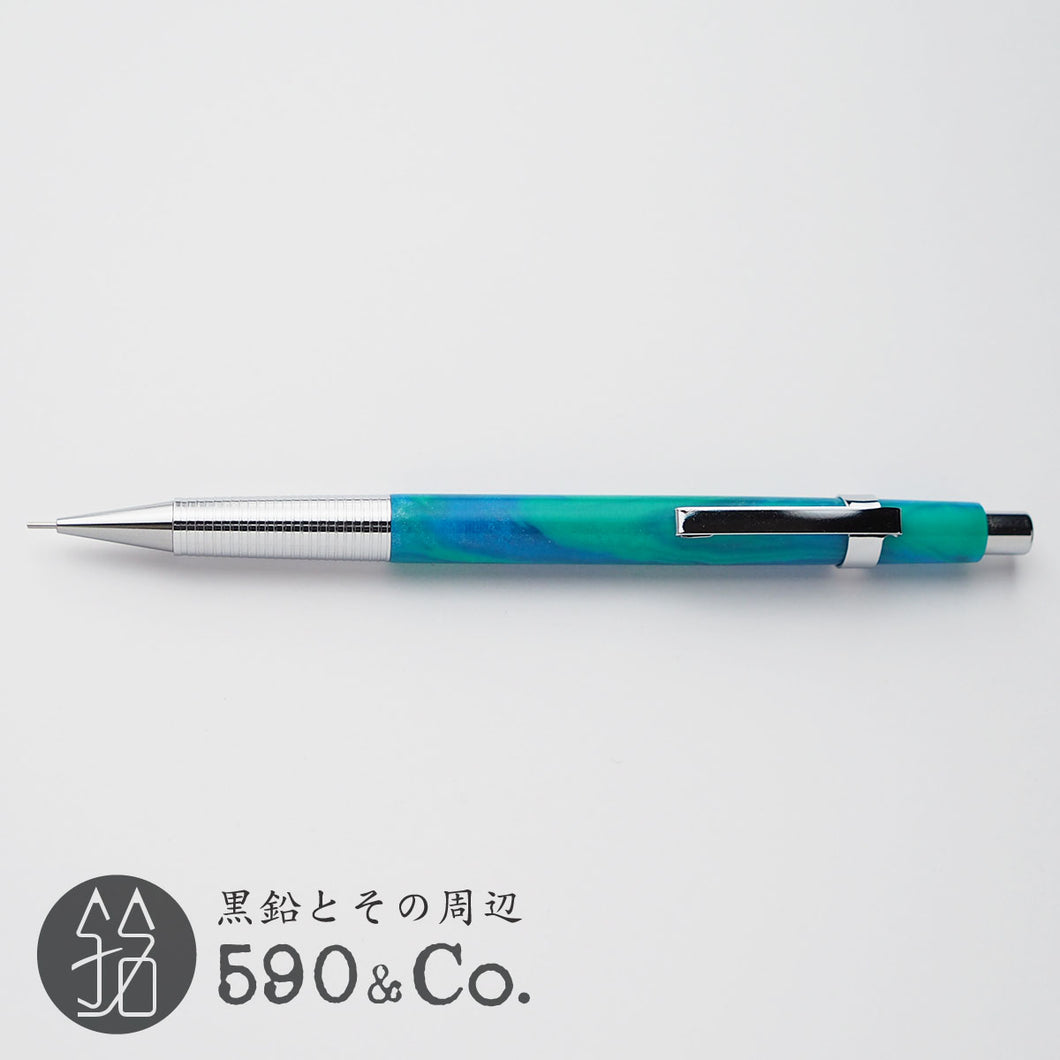 Craft-A Acrylic Drafting Mechanical pencil (Blue Green Ocean)