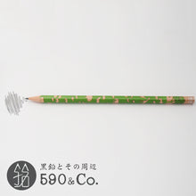 Load image into Gallery viewer, (13072-B PB3) Kakikata pencil /Pencil For Beginner / Pack of 3・Green (B)