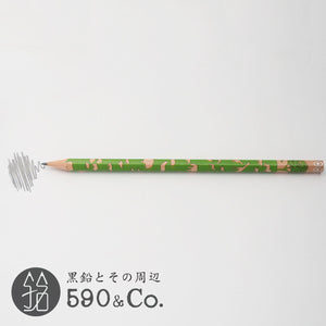 (13072-B PB3) Kakikata pencil /Pencil For Beginner / Pack of 3・Green (B)