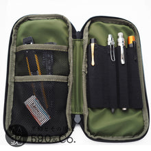 Load image into Gallery viewer, (LDCO-RZPN-11)LIBERATOR CORDURA Round zip pencil case (Navy/Khaki)