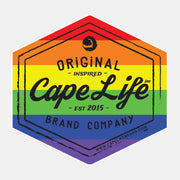 Cape Life Original Logo Stickers