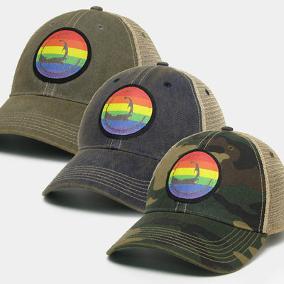 Cape Pride, Hope, & Peace Vintage Trucker Hat