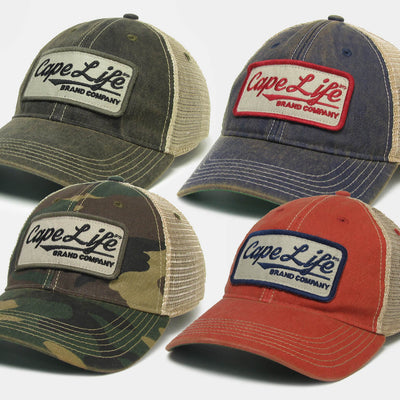Vintage Cape Life Trucker Hat