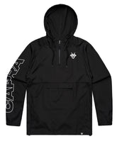 "Load image into Gallery viewer, Capra ""Breaker"" Windbreaker - Black"