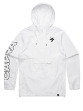 "Load image into Gallery viewer, Capra ""Breaker"" Windbreaker - White"