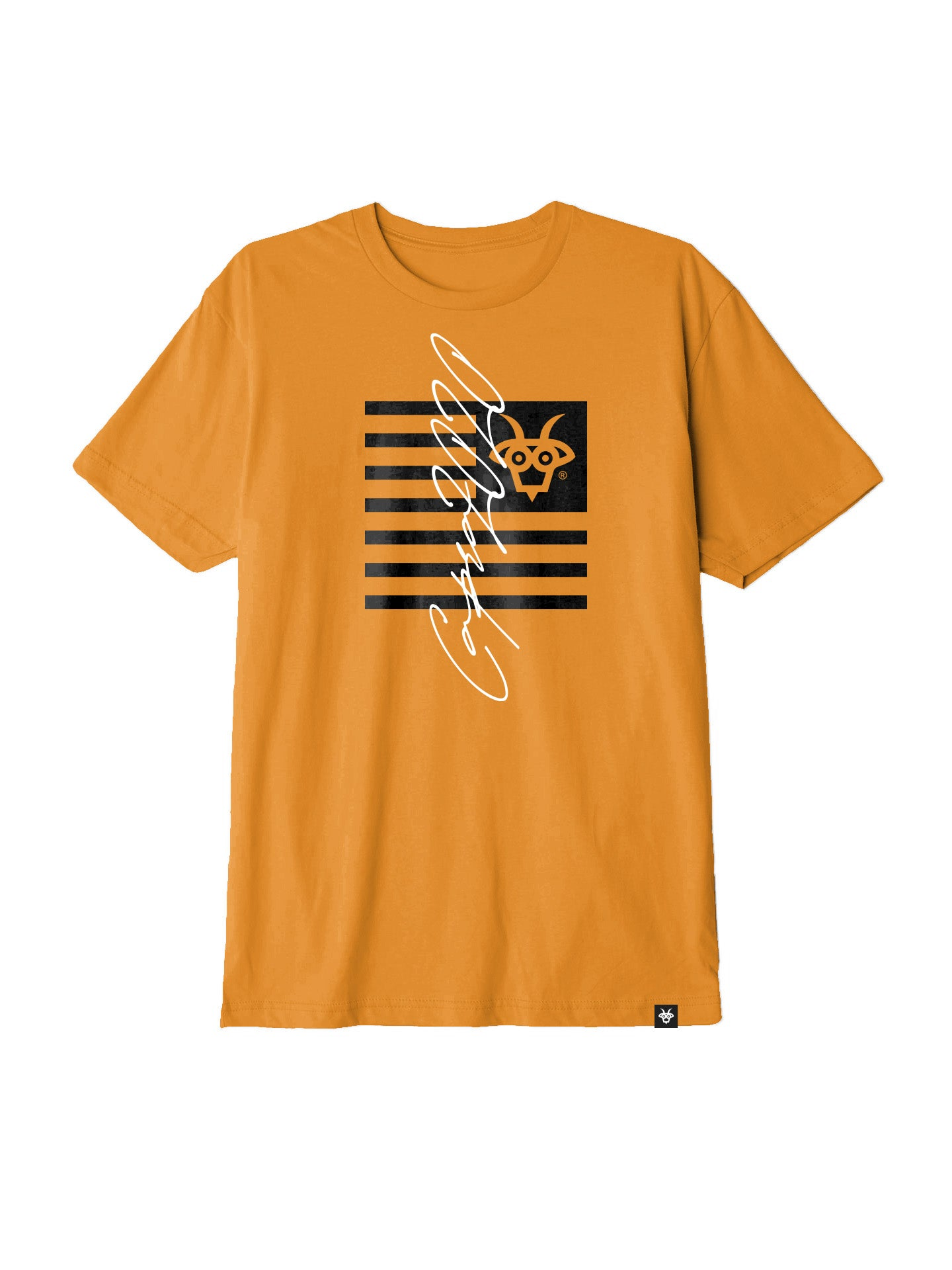 Capra Flagship Tee - Orange/Black