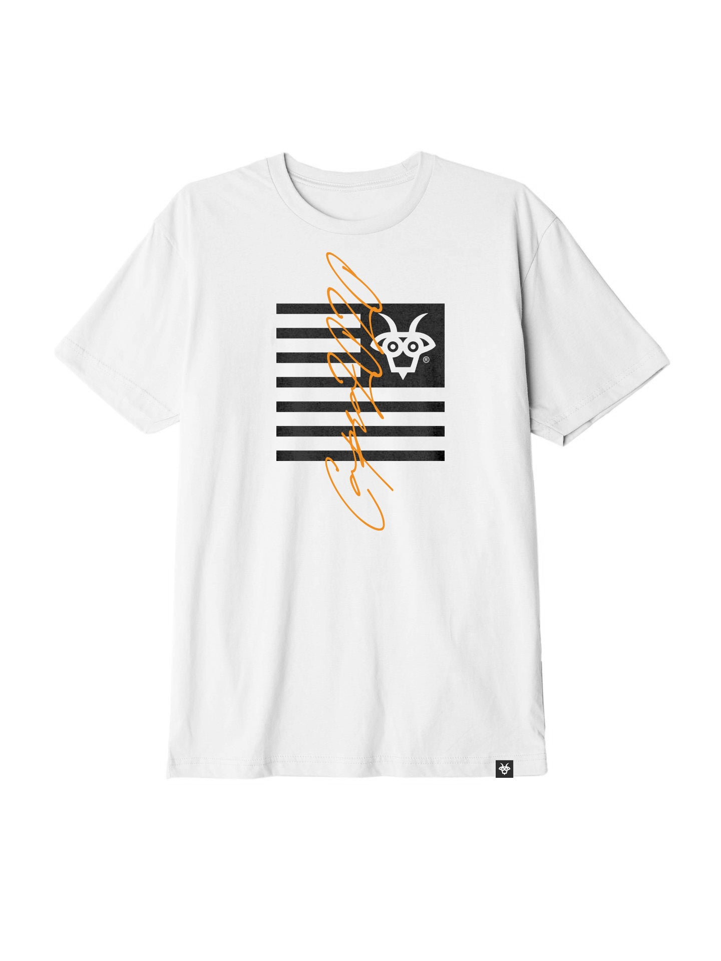 Capra Flagship Tee - White/Black