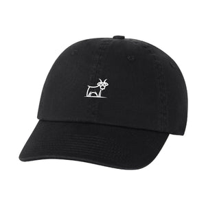 Capra Dad Hat - Black/White