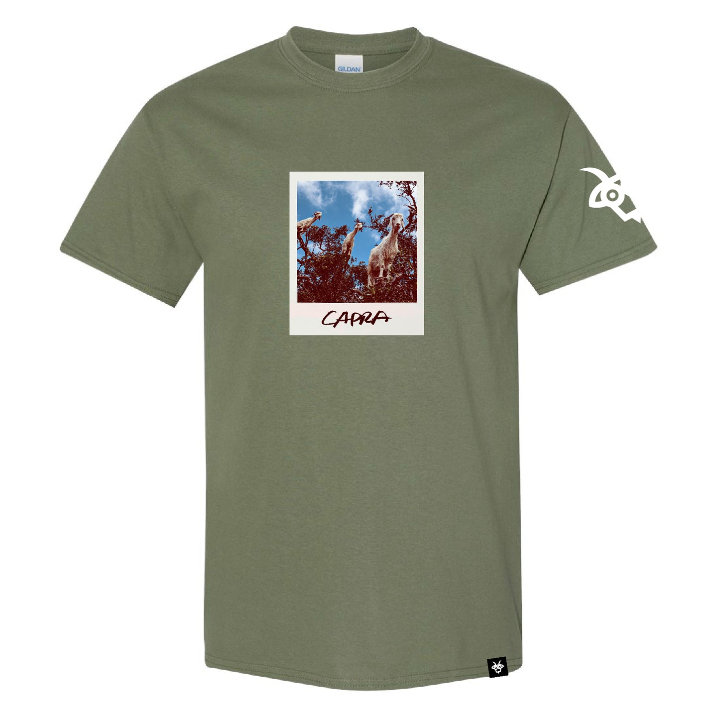 Polaroid Tee - Green