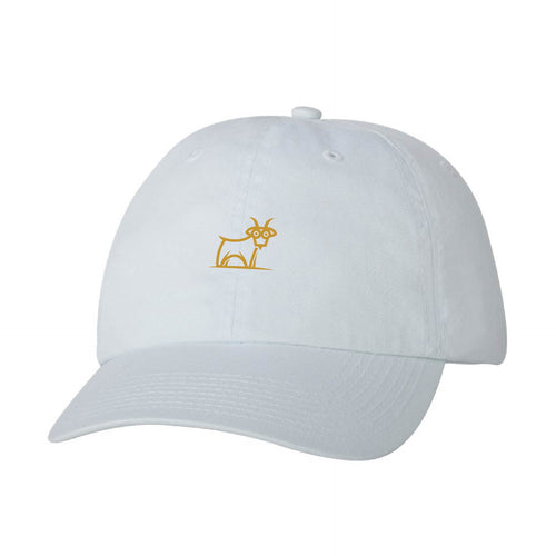 Capra Dad Hat - White/Gold