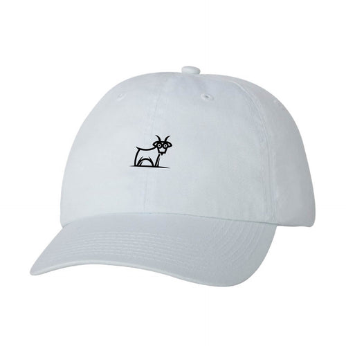 Capra Dad Hat - White/Black