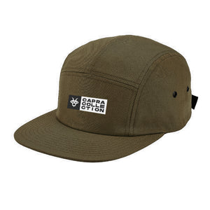 Capra Five Panel Hat - Army Olive