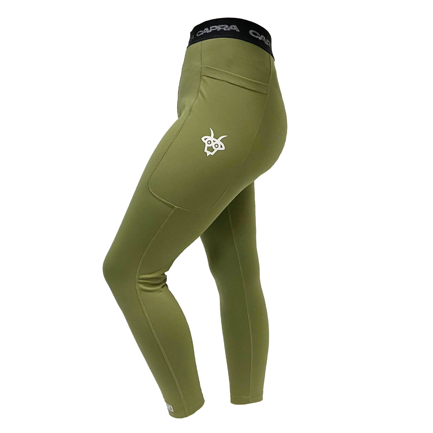 Capra Leggings - Olive