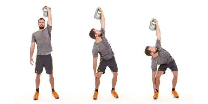 5 Kettlebell Exercises That'll Keep You Toned At Home