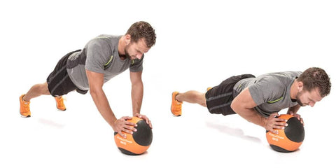 Medicine Ball - Push Up