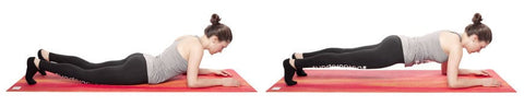 Training at home - Plank