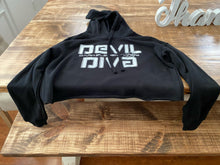 Load image into Gallery viewer, Devil Diva Crop Top Hoodie PRE SALE!