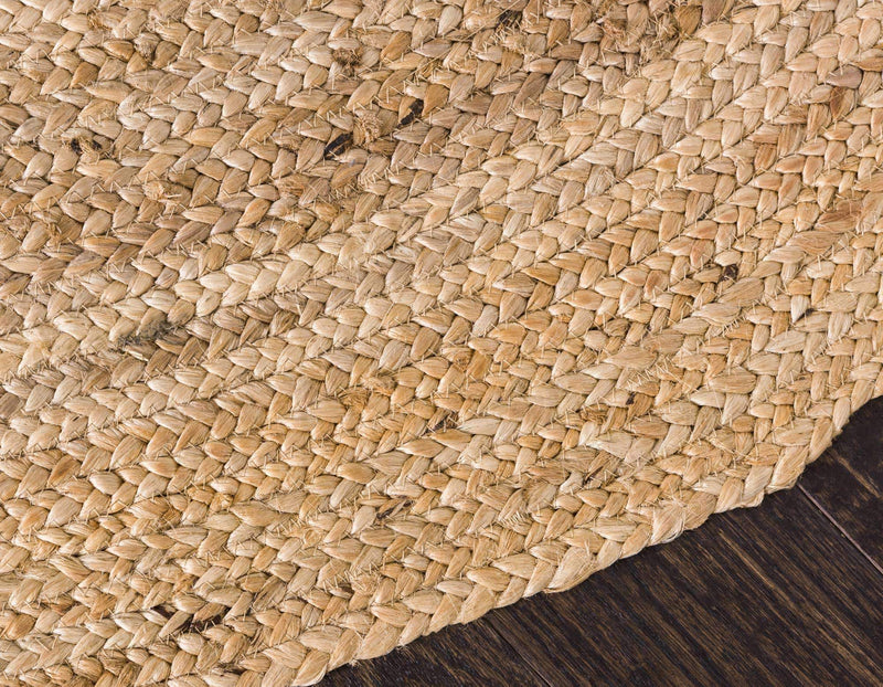 CHARLOTTE Hand-braided Jute Accent Rug - Artes Del Mundo