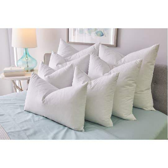 FEATHER Decorative Throw Pillow Insert Twin Packs - Artes Del Mundo