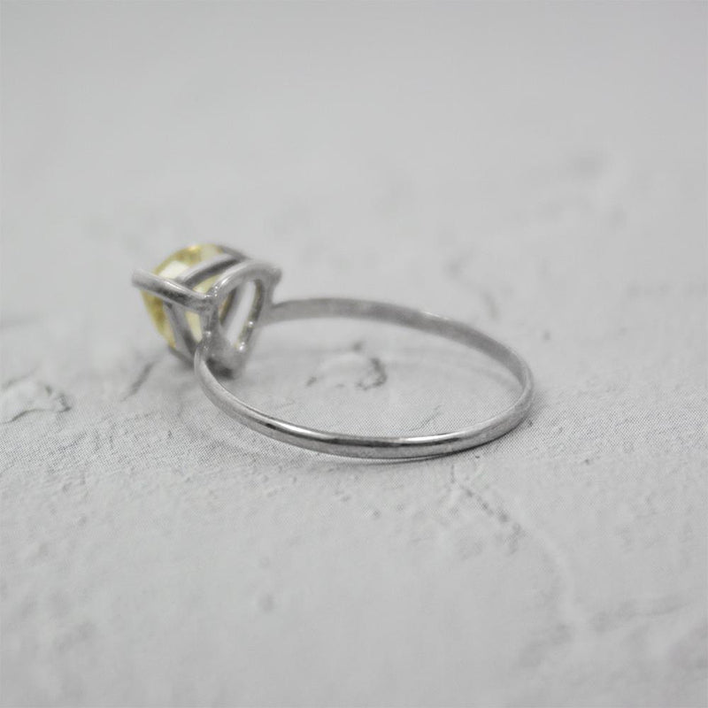 LEMON TOPAZ Sterling Silver Ring - Artes Del Mundo
