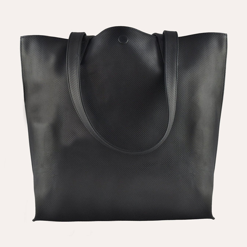 STREET Handmade Perforated Leather Tote Bag - Artes Del Mundo