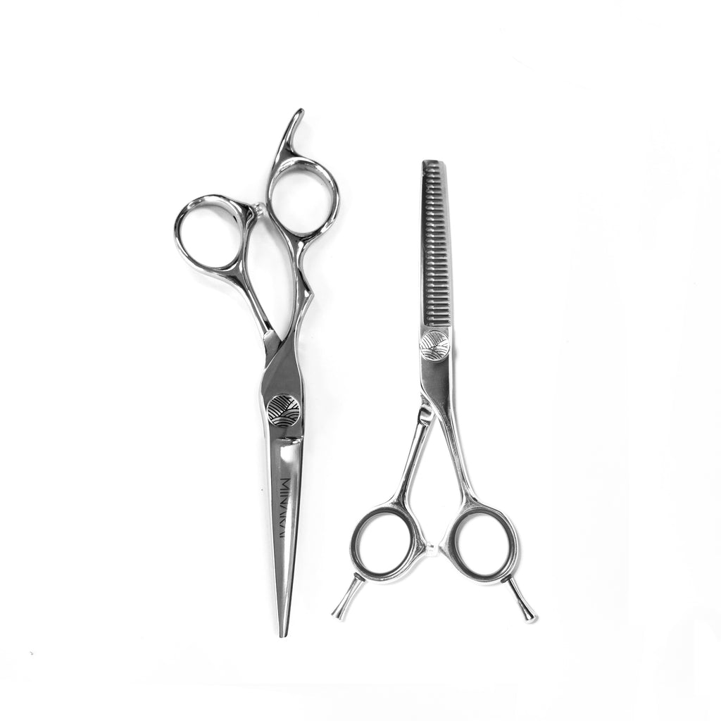 Minarai Apprentice Scissor & Thinner Duo Set [left hand]