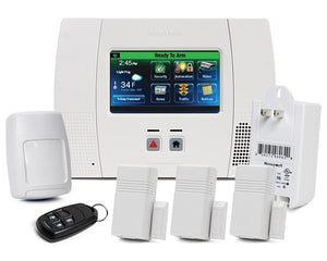 Honeywell Lynx 5210 Alarm Kit, DIY Monitored Alarm.