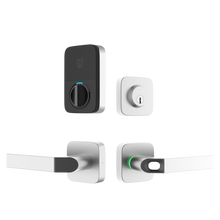 Load image into Gallery viewer, Bluetooth Enabled Fingerprint & Key Fob Two-Point Smart Lock w/Deadbolt and Bridge