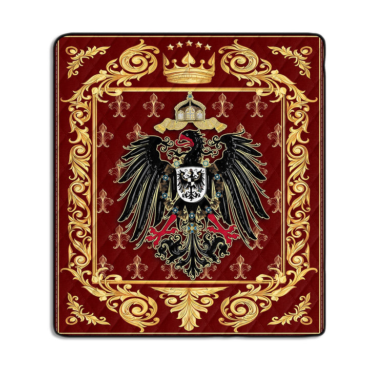Coat Of Arms German Empire Quilt / S (37.8 X 44.9 Inches/ 3.1 3.7 Feet) G83