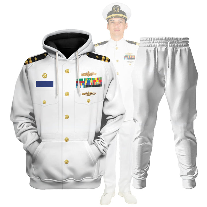 Us Navy Uniform Dress Service White Vn243