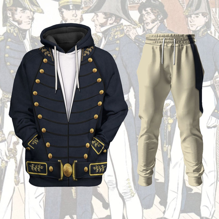 Uniform Of The Us Navy 1830-1841 Vn257