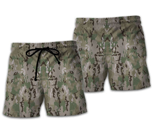 United States Army Combat Uniform Beach Shorts / S Qm753
