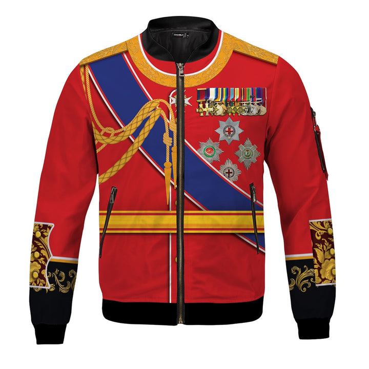 King Edward VII of the United Kingdom Bomber Jacket