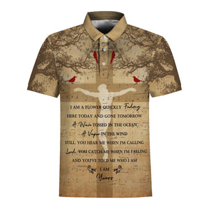 Jesus Who Am I Polo Shirt / S Vn777