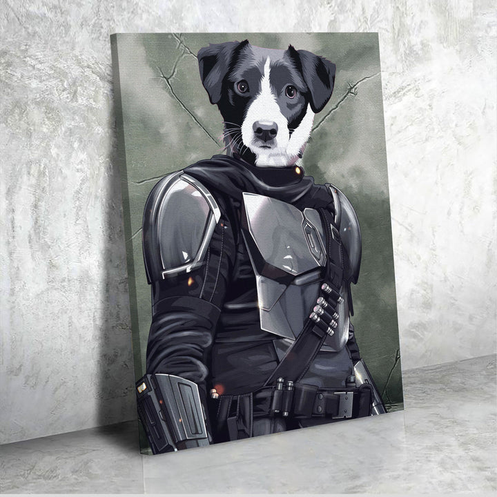 Customized Photos Canvas Mandalorian Beska