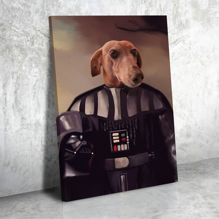 Customized Photos Canvas Darth Vader