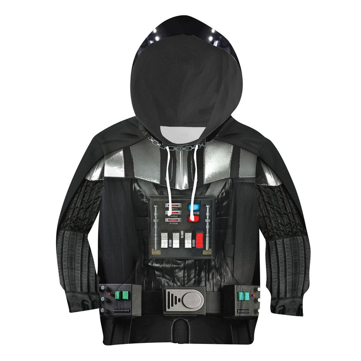 3D Kid D Vader All Over Print Kidhp52 Hoodie / S