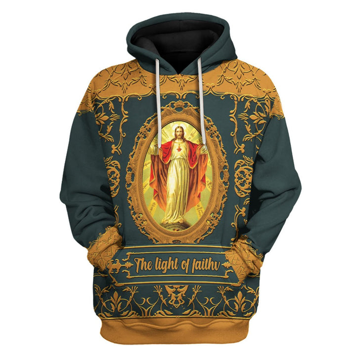 The Light Of Faith Hoodie / S Qm1008