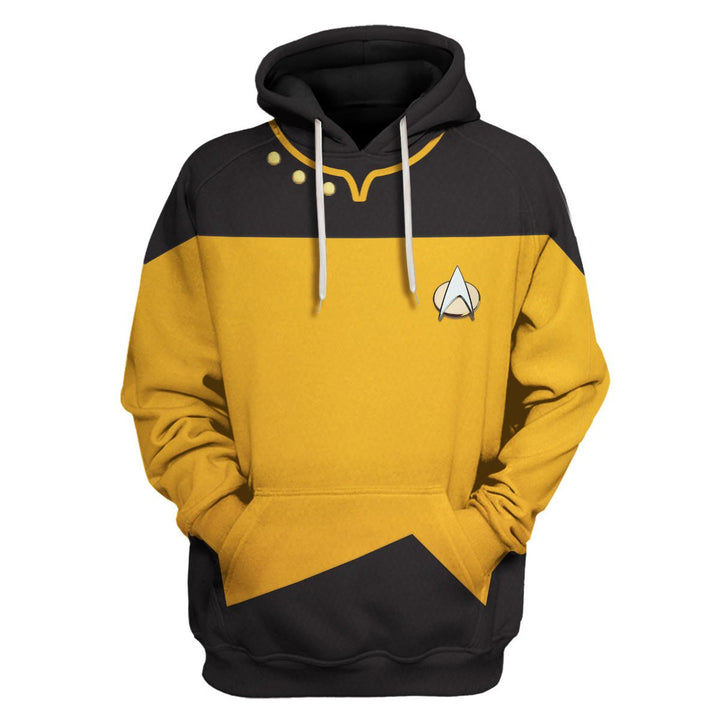 The Next Generation Yellow Uniform Hoodie / S Hp209