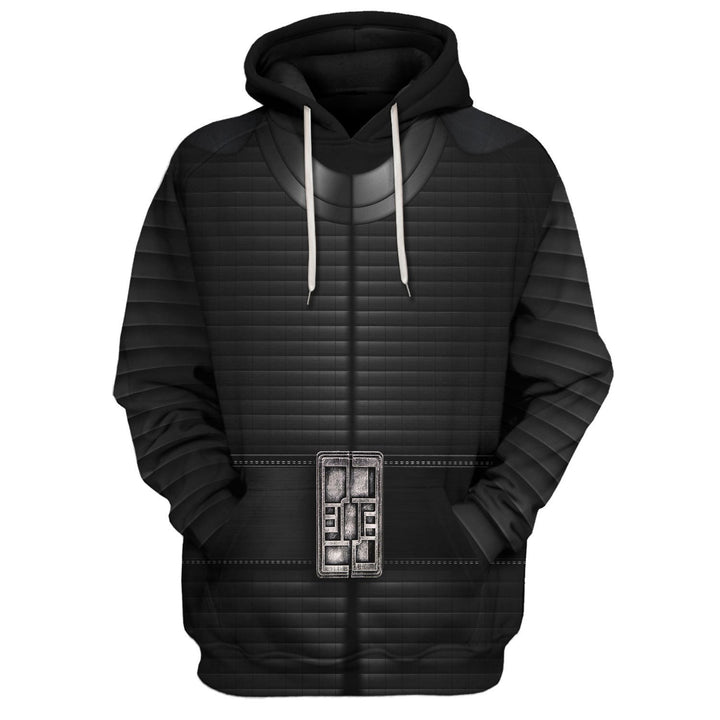 3D Kylo Ren All Over Print Qm180 Hoodie / S