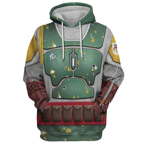 3D All Over Print Hp26 Hoodie / S