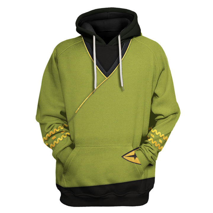 TOS Kirk Green Tunic Tracksuit