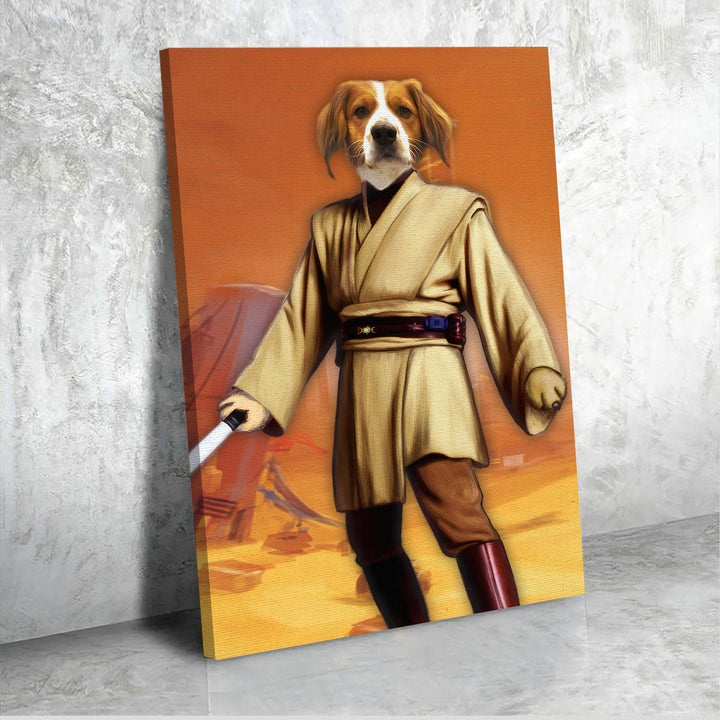 Obi Wan - Custom Pet Canvas