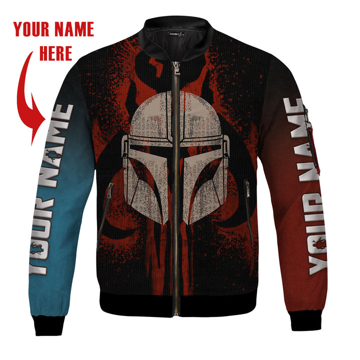 Dadalorian  Bomber Jacket-Custom Name