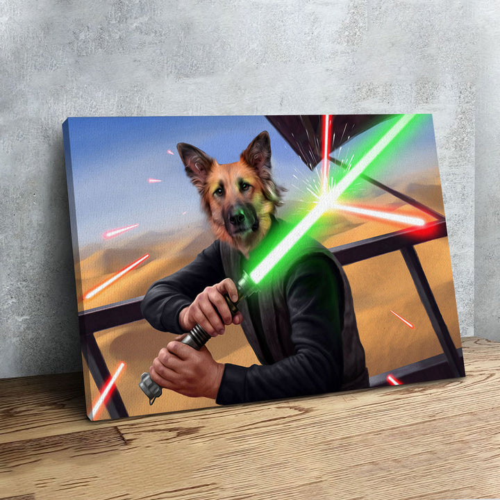Customized Photos Canvas Luke Skywalker
